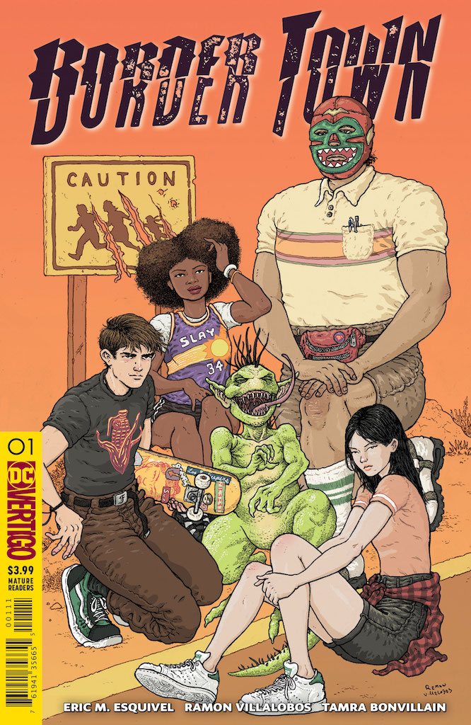 DC Vertigo Preview: Bordertown #1