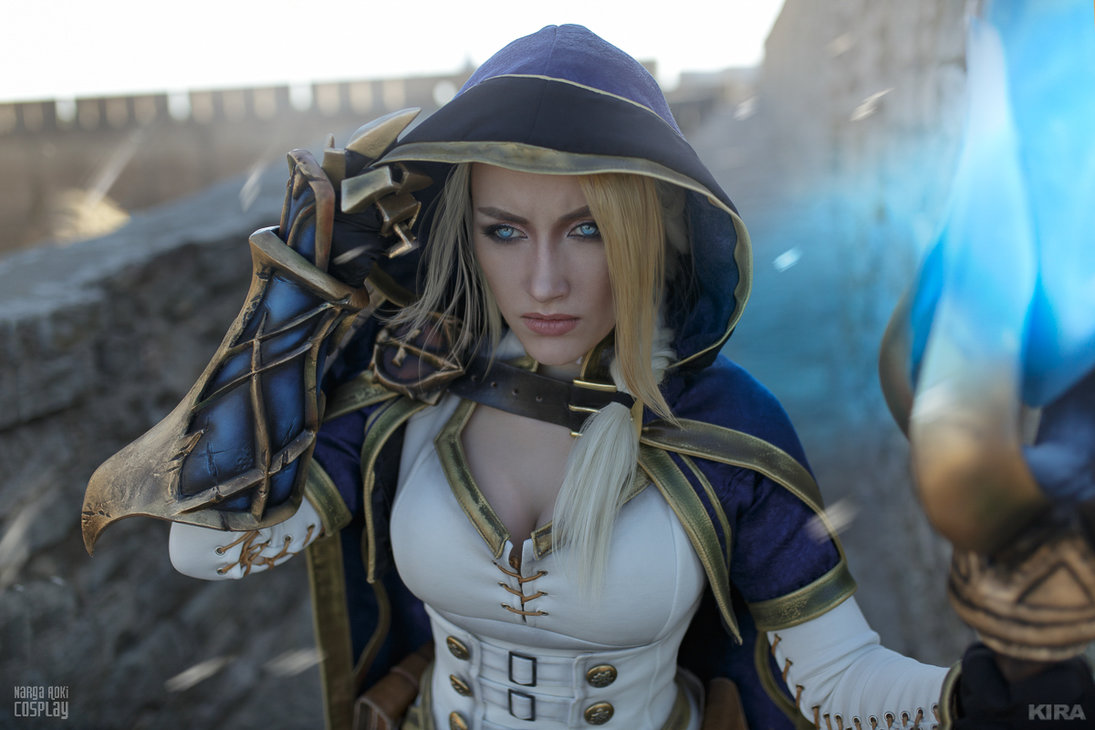 World of Warcraft: Jaina Proudmoore from 'Battle for Azeroth' by Narga