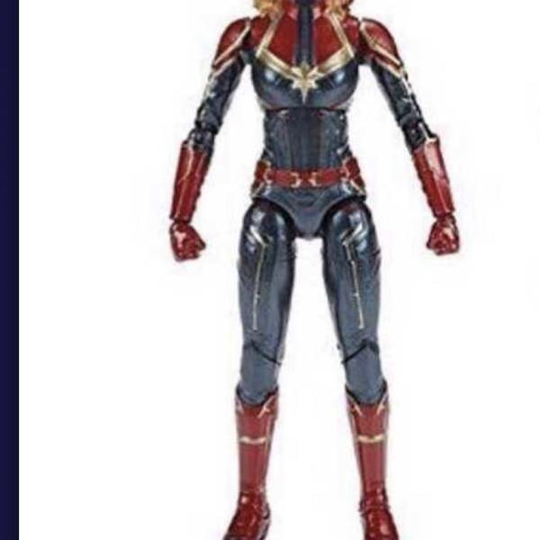 Marvel Legends Captain Marvel movie action figures leaked