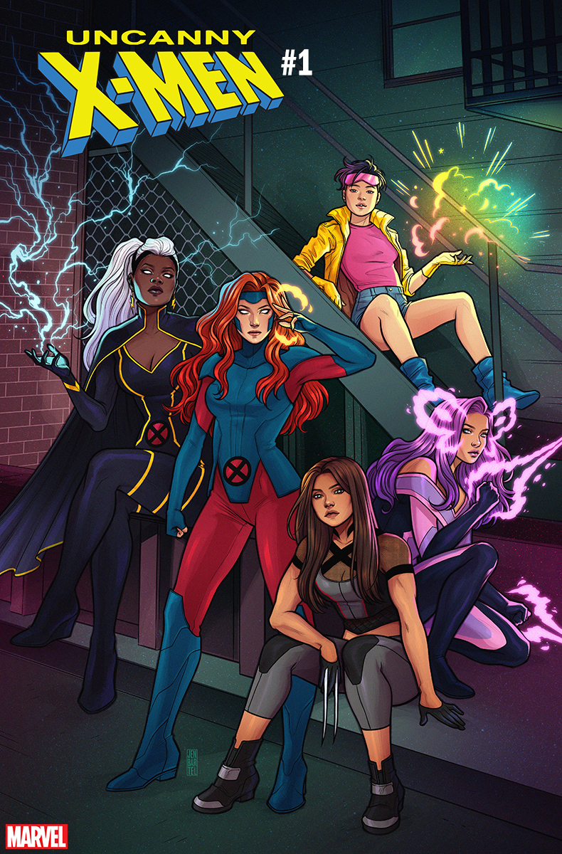 First Look: Uncanny X-Men #1 cover by Jen Bartel