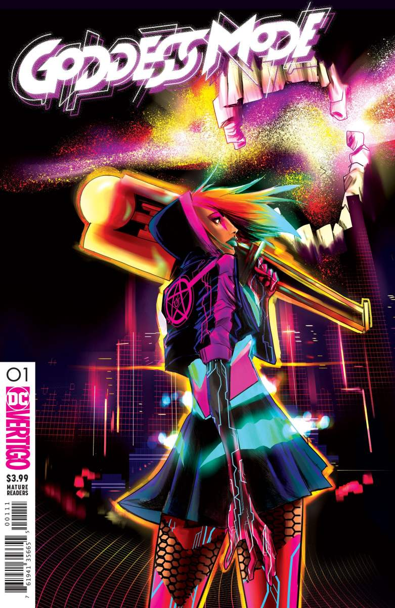 First Look: DC Vertigo's Goddess Mode #1