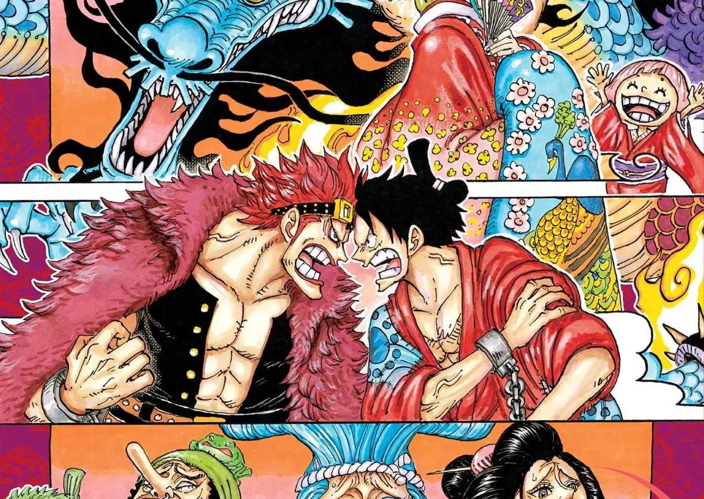 One Piece Vol. 92: Introducing Komurasaki the Oiran Review ...