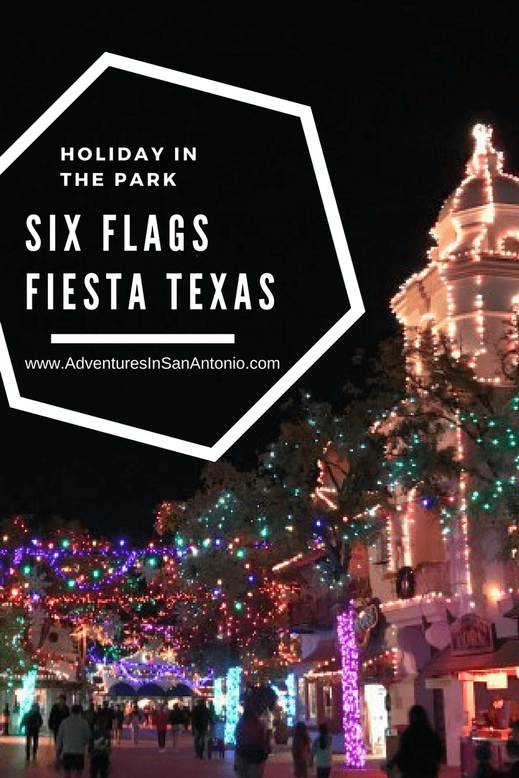 holiday in the park six flags fiesta texas christmas adventures in san antonio