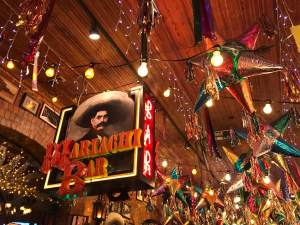 Mariachi Bar across from the bakery at Mi Tierra historic market square san antonio texas