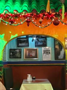 private booths for smaller parties at Mi tierra historic market square san antonio texas