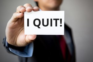 The six reasons that people quit. A sermon from Irvington Bible Baptist Church