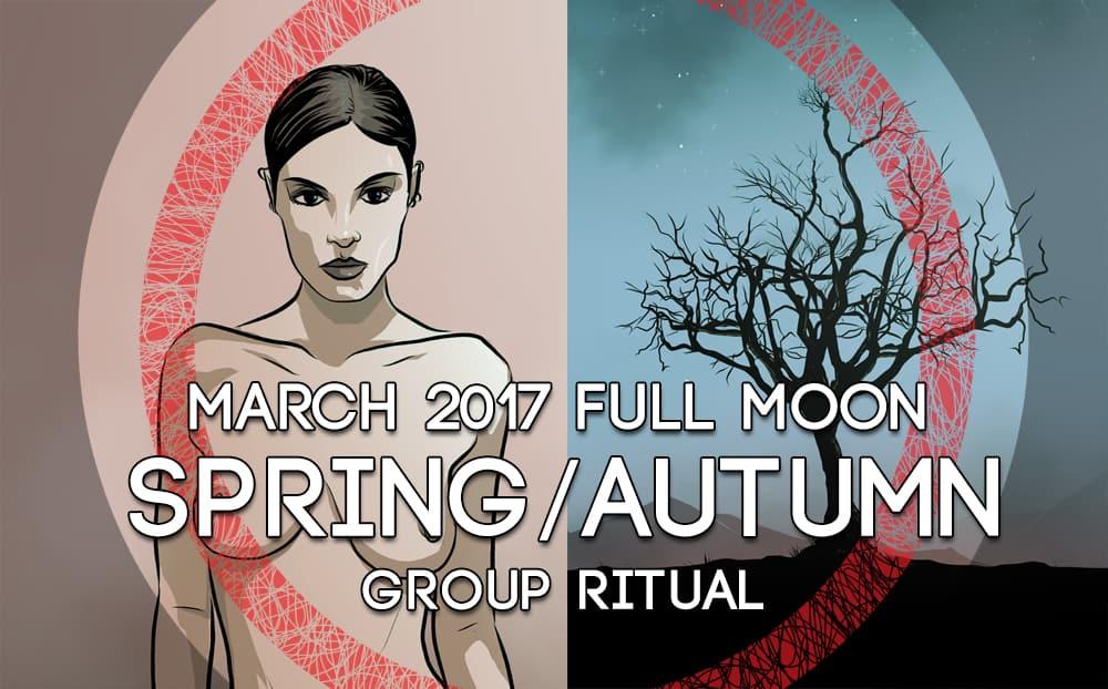 March full moon ritual