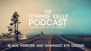 Black Mirrors And Shamanic Eye Gazing
