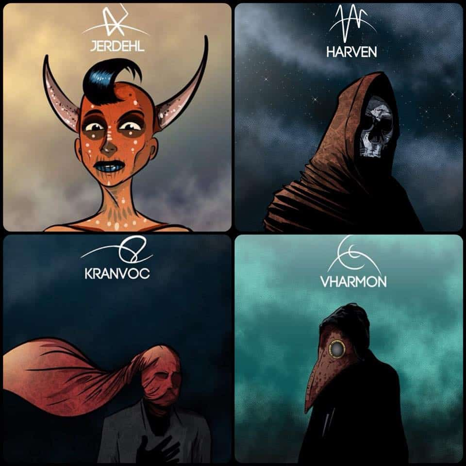 The Four Devils