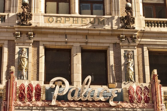 The Palace Theater, Broadway St. Los Angeles, CA @PennySadler 2013