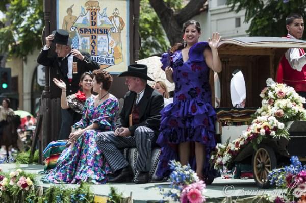Fiesta parade Santa Barbraa @PennySadler 2014