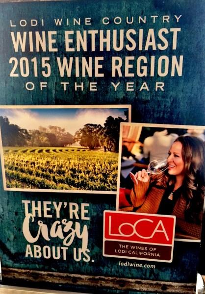 Lodi California, wine enthusiast