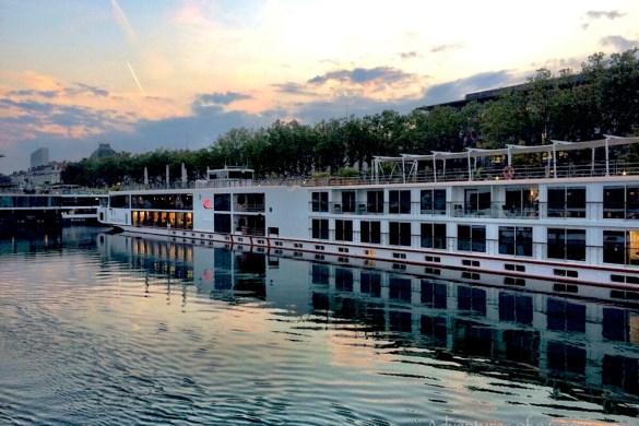 postcard from a River Cruise Viking Longship Buri