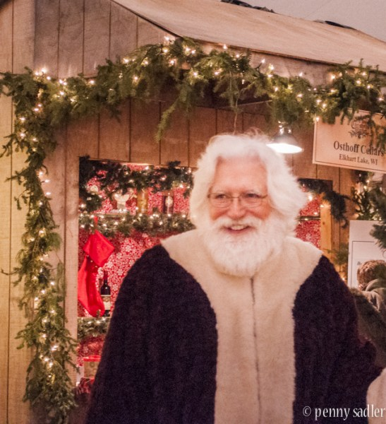 St. Nicolas at the Osthoff Christmas Market