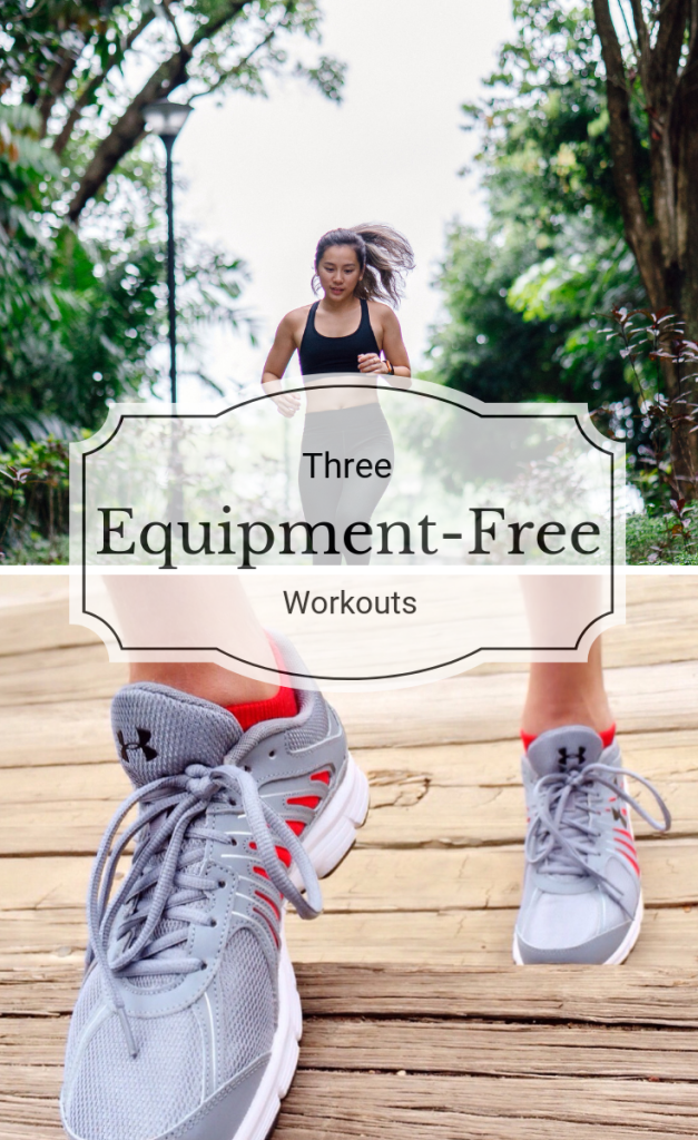 Getting a great workout doesn't have to be expensive or inconvenient. These 3 equipment-free workouts can be done right in your own home.