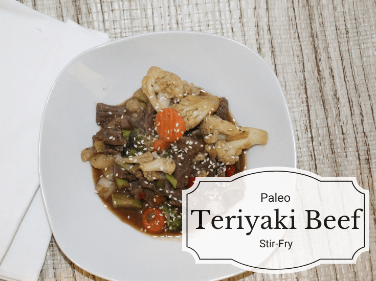 Tender beef, loads of veggies and an easy to make teriyaki sauce all come together to make this paleo teriyaki beef stir-fry the perfect weeknight dinner.
