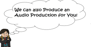 Audio production for ads on adventures of a freelance yuppy