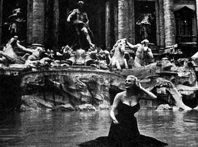 A scene from La Dolce Vita