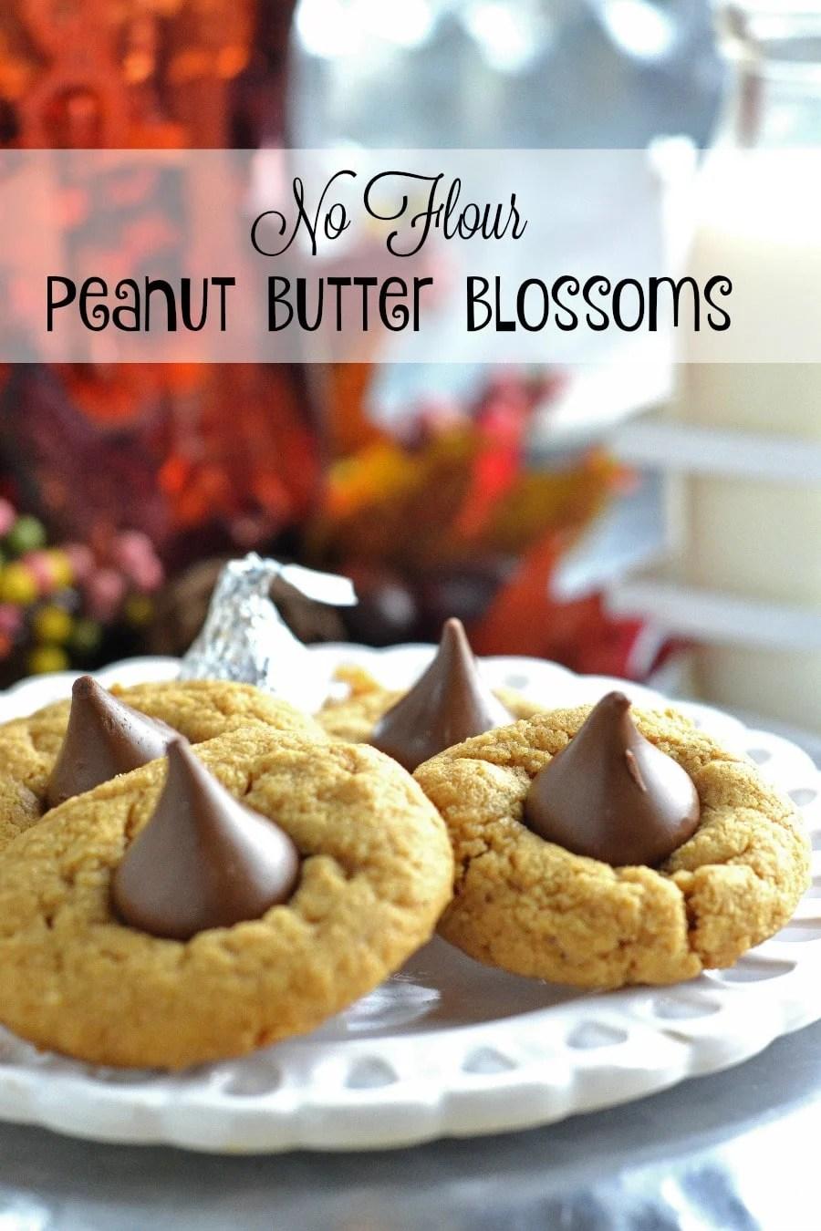 No Flour Peanutbutter Blossoms Adventures Of A Nurse
