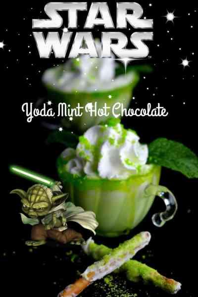 Starwars Yoda Mint Hot Chocolate