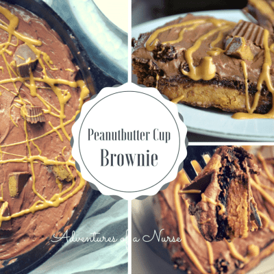Peanutbutter Cup Brownies