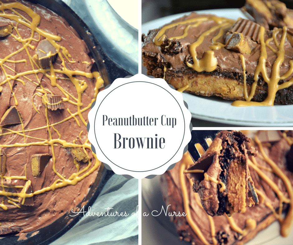 Peanutbutter Cup brownie