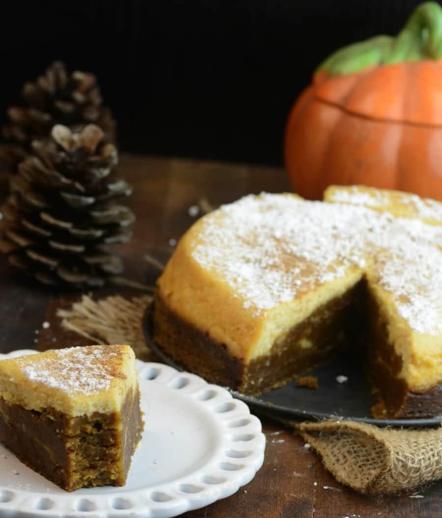 Pumpkin Cheesecake Instant Pot Bread - Adventures of a Nurse