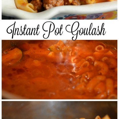 Instant Pot Goulash 12 Minute Meal