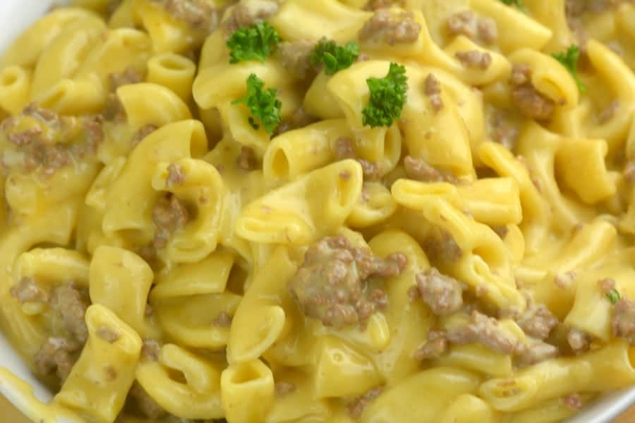 Instant Pot Homemade Hamburger Helper