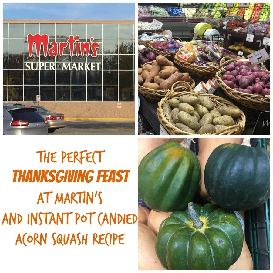 Martin's thanksgiving-feast