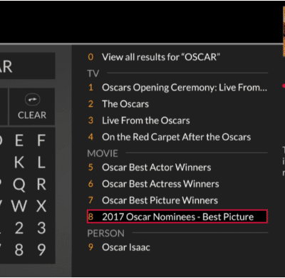 Stay Up to Date for the Oscars with Dish