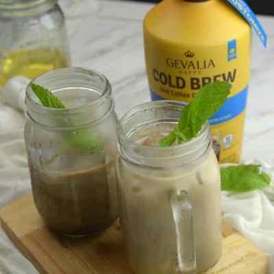 Gevalia Cold Brew Vanilla Mint Iced Coffee