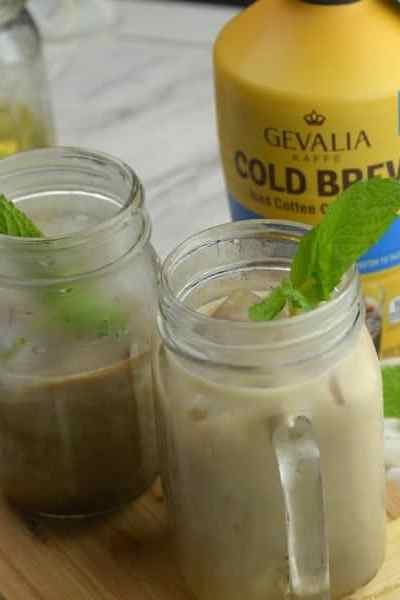 Gevalia Cold Brew Vanilla Mint Iced Coffee