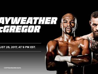 WATCH MAYWEATHER VS. MCGREGOR Free!