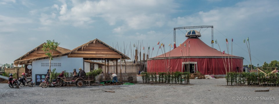 Phare, The Cambodian Circus - New Home