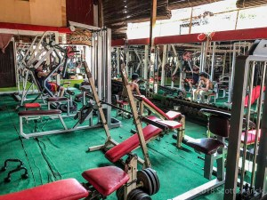 If you are looking for a cheap place to work out in Cambodia Wat Bo gym is the place for you in Siem Reap