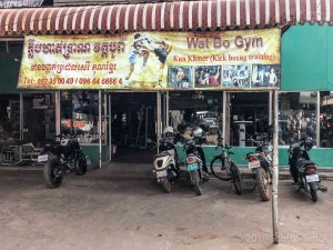 A local gym in Siem Reap Wat Bo Gym caters to a mostly local crowd