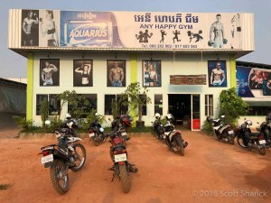 Any Happy Gym is almost out in the country but still close to Siem Reap