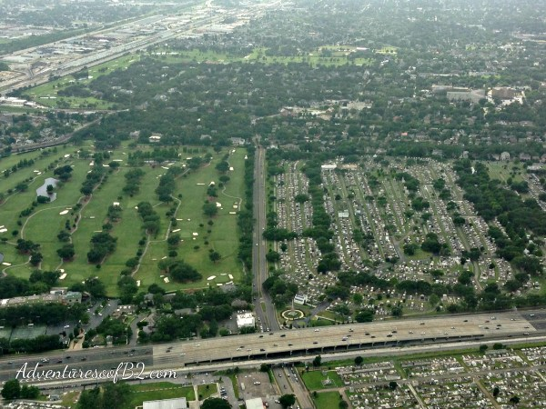 aerial view of New Orleans Cemeteries