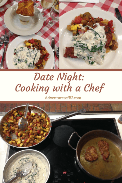 date night cooking with a chef