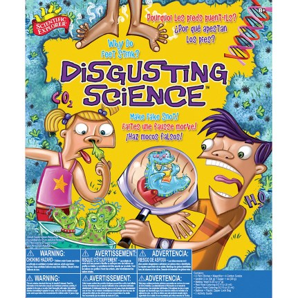 Let your child learn, explore and experiment with a scientific explorer disgusting science kit. For more unique gifts, visit adventuresofb2.com