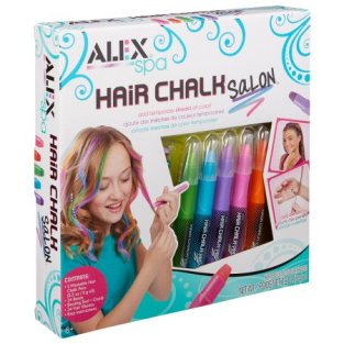 Schools out for the summer or holidays? Let you child experiment with different colored highlights with these hair chalks! For more great gift ideas for christmas, visit adventuresofb2.com