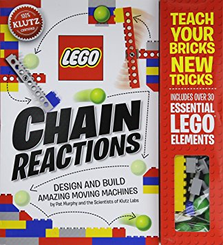 lego craft kit is a great gift idea for those kids who love to build things, learn cause and effect with lego chain reactions kit. For more great kid gift ideas, visit adventuresofb2.com