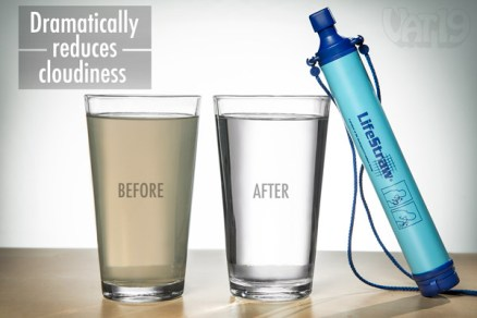 travel straw that filters water
