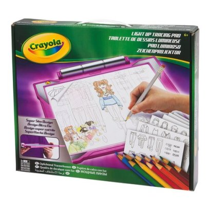 Know of a little girl or boy that loves to draw. This light up tracing pad is perfect for aspiring artists and make a great christmas gift! For more great gift ideas for kids, visit: adventuresofb2.com
