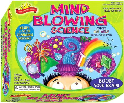 Kids will have a blast with this mind blowing science kit. They'll get to erupt a volcano and more. For more unique christmas gifts for kids, visit adventuresofb2.com
