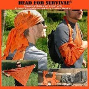 bandana with survival tips