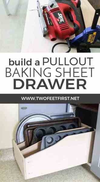 Build-a-pullout-baking-sheet-drawer