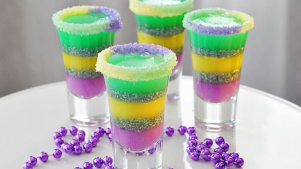 king cake jello shots