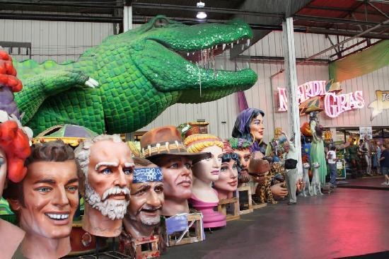 Go behind the scenes of how Mardi Gras comes to life when you tour Mardi Gras world in New Orleans. Get a mini experience of Mardi Gras year round.